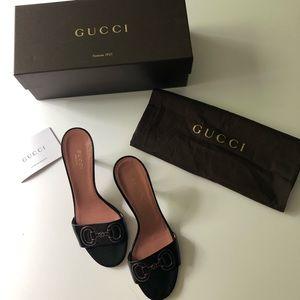 Gucci horesbit heel